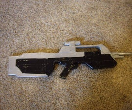 How to Make a Life Size Halo 3 Battle Rifle