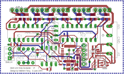 Picture of PCB Layout