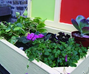 Urban Jungle (sort Of): Recycle an Old Piece of Furniture Into a Lush Mini-garden