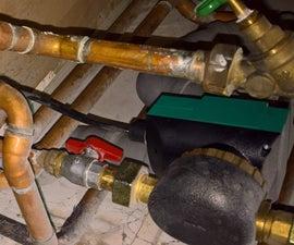 ESP 8266 Controlling Hot Water Circulation Pump