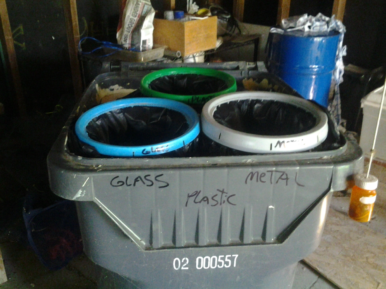 Picture of Recycling Bin Sort and Recycle Your Garbage