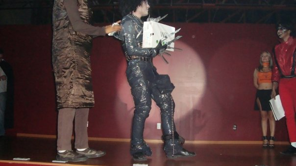 Picture of Edward Scissorhands Costume  ...On the Cheap.