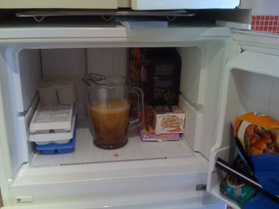 Put Vodka Into Freezer