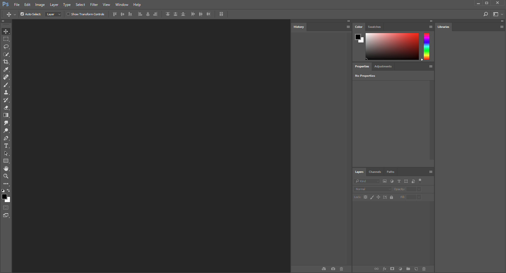 Picture of Open Photoshop