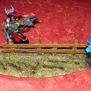 Warhammer 40k Terrain (fence)