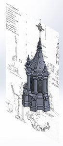 Tower Top and Dome Turret