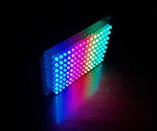 D.I.Y SMART RGB MATRIX 8x16
