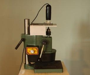 USB Microscope Guided PCB Drill