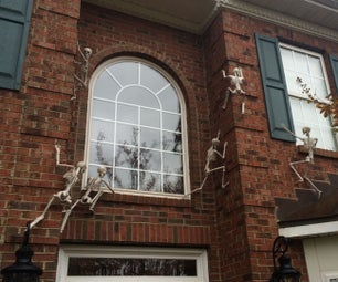 Skeletons Climbing Your House's Walls
