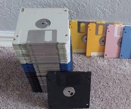 Hidden Message in a Floppy Disk