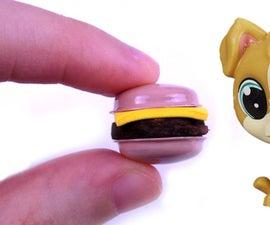 Diy Miniature Burger
