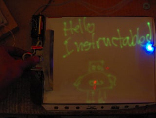 Phosphorescent Notepad