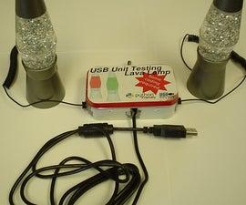 USB controlled mini lava lamps
