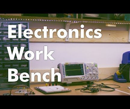 Remarkable How To Make A Diy Electronics Workbench 3 Steps With Pictures Ibusinesslaw Wood Chair Design Ideas Ibusinesslaworg