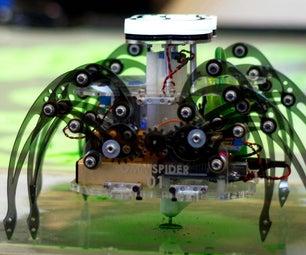 Terra Spider: Autonomous Remediation Robot