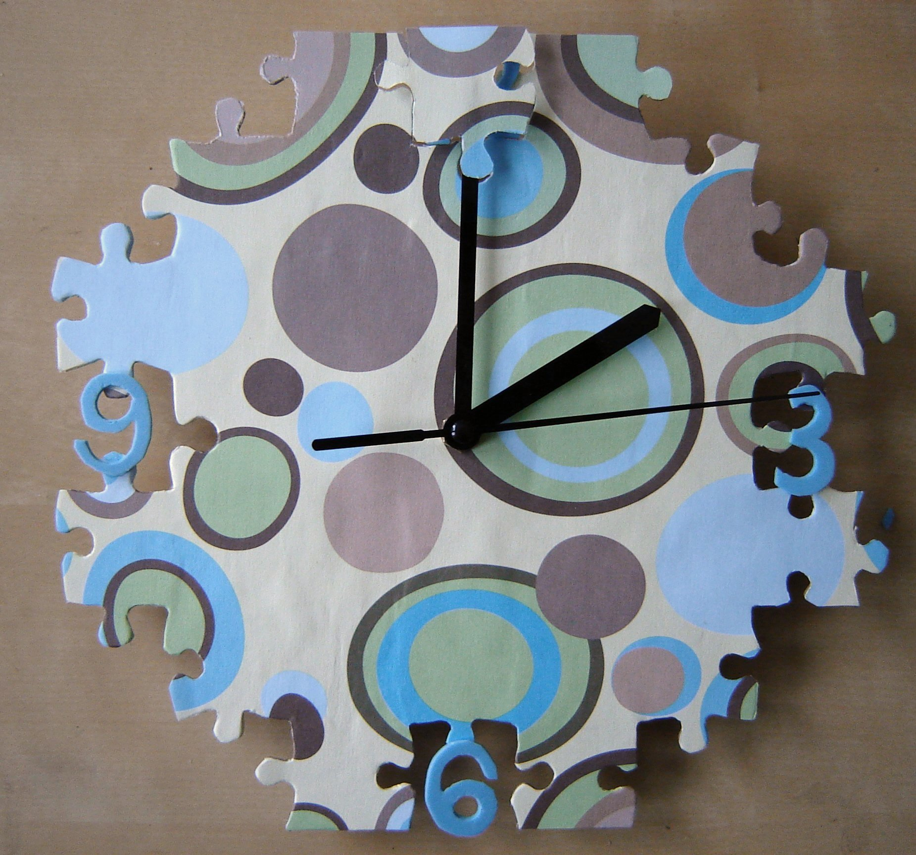 Picture of Jigsaw Puzzle Clock