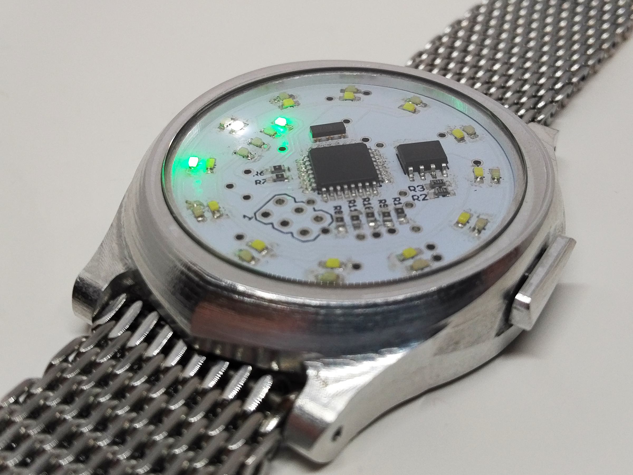 Picture of MechWatch - a Custom Digital Watch