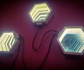 Infinity Mirror Wall Lights