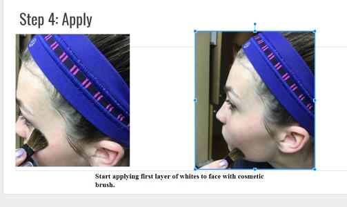 Step 4: Apply to Big Pores