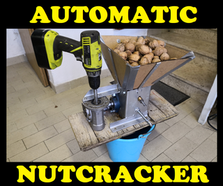 Adjustable Nut Cracking Machine