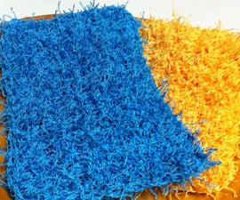 Easy Crochet Dish Scrubbies