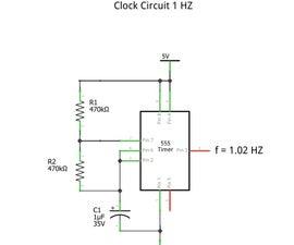 Clock Circuit 1 HZ