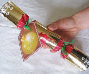 Hack Christmas Cracker Into a Meaningful Pre-wrapped Gift