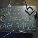 - portable welding/fabrication table