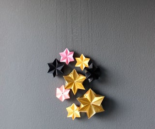 DIY - 3D Stars Mobile
