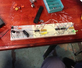 Running LEDs With 555, 74163, 74138 And 74240
