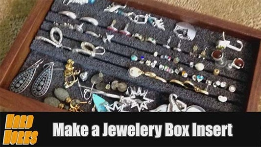 Jewelry Box Foam Organizing Insert