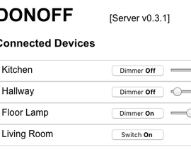 DONOFF WiFi Enabled PWM Dimmer
