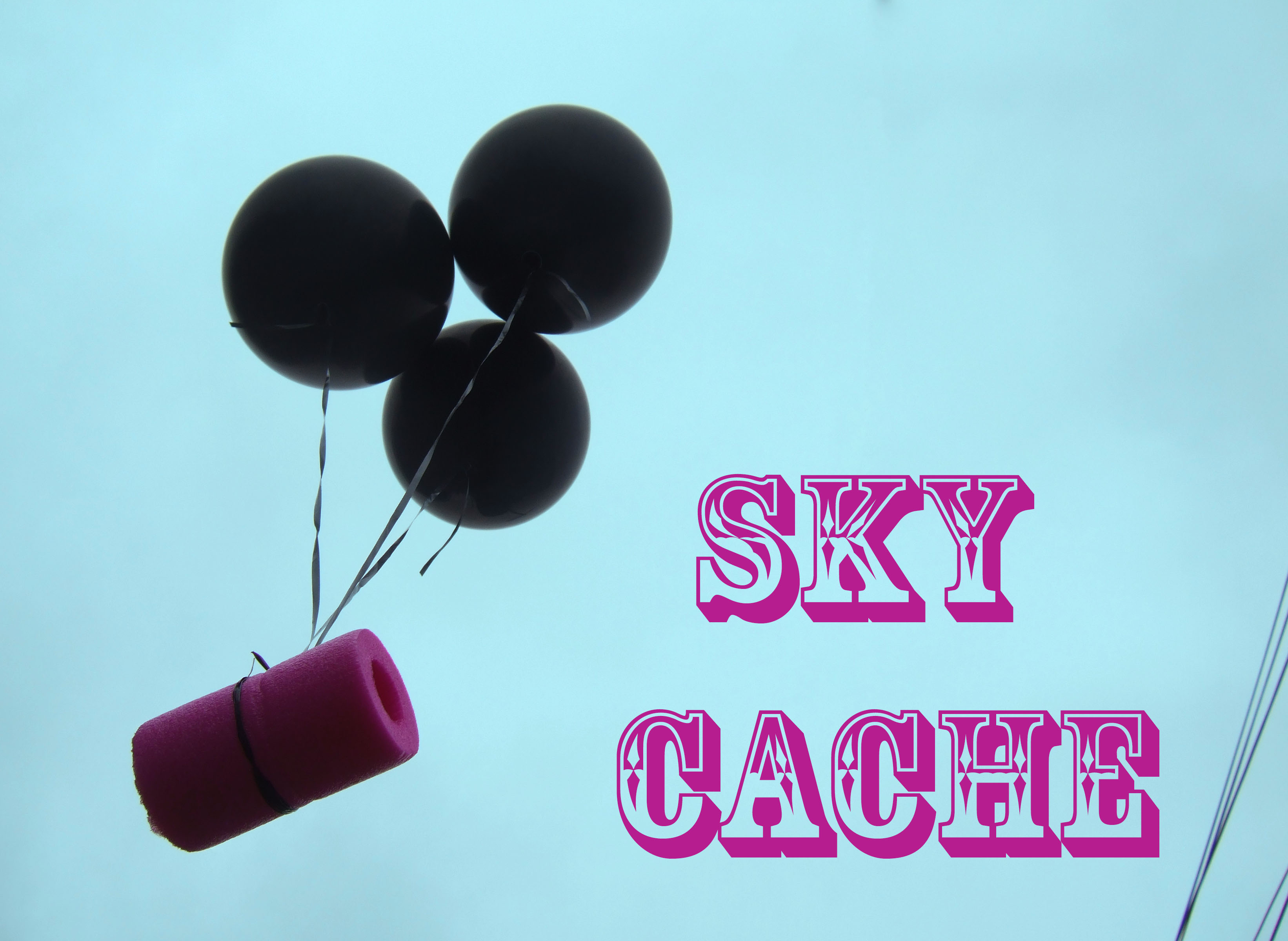 Picture of SKY CACHE: Mobile Aerial Geocache