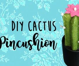 DIY Cactus pincushion!