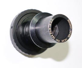 How to Make Your Own Camera Lens