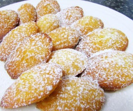 Madeleines French Butter Cakes