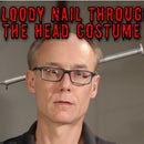 The Bloody Nail-Through-The-Head Costume