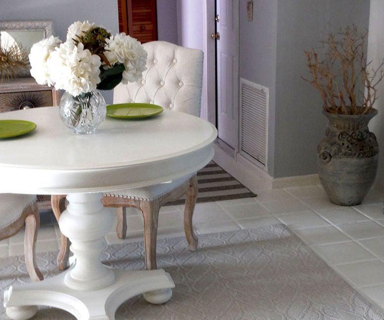 Paint Your Floor Tiles With Chalk Paint