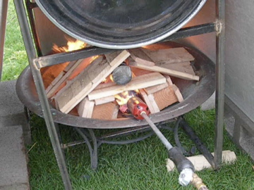 Picture of How to Make Some Charcoal