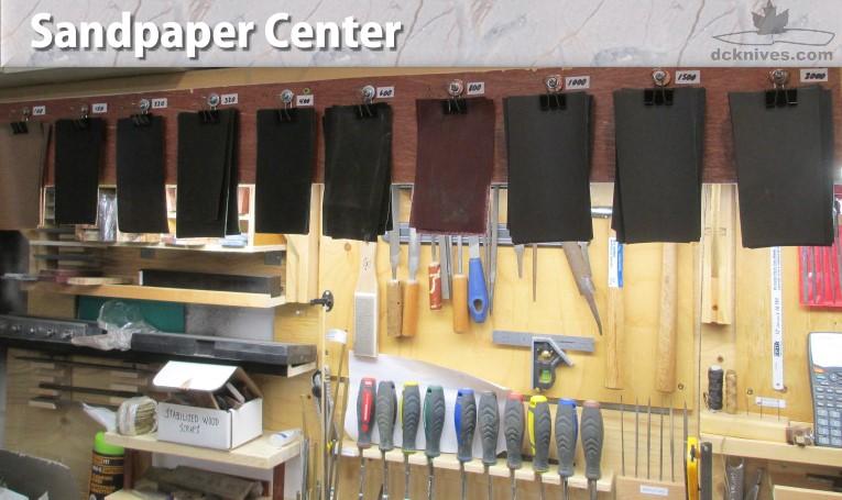 Picture of Sandpaper Center