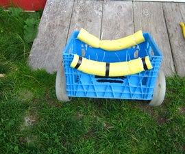 Easy Canoe/kayak Portage Cart