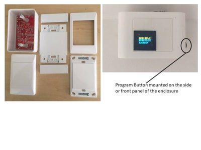 Main Controller Enclosure Including Electronics and Housing