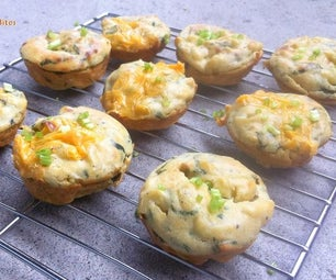 Baked Mac & Cheese Bites
