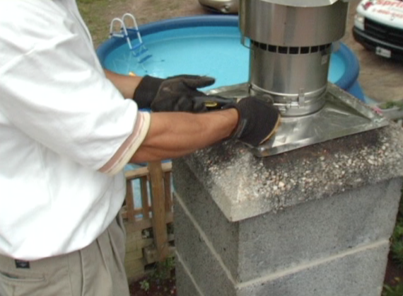 Picture of Install Top Plate and Rain Cap