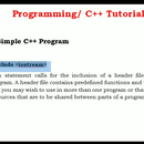 A Simple Program Hello World in C++
