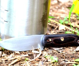 Outdoors Camping/ Bushcraft Knife From Sawblade!