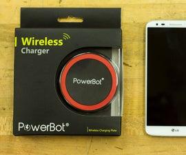 Build a Hidden Qi Wireless Phone Charger!