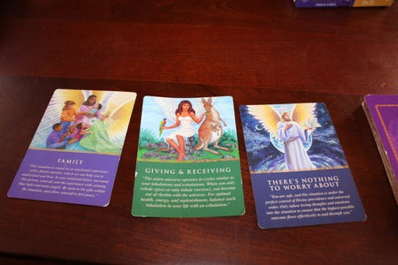 Three Card Spread - Angel Oracle Cards