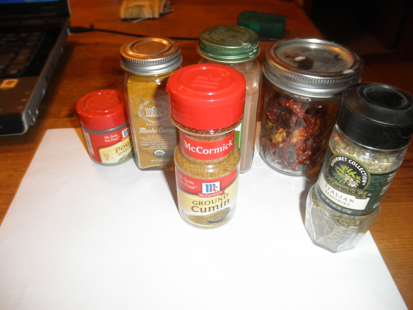 Picture of Spices and Herbs