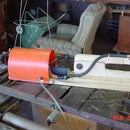Tomato Cage or Wire Spot Welder Using  Microwave Transformer